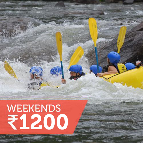 Rafting only (Sat/Sun)