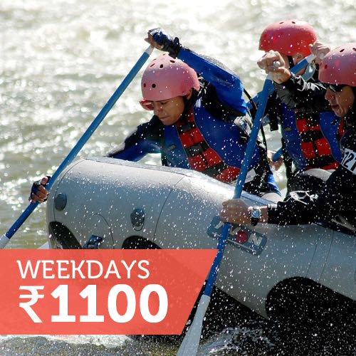 Rafting with meals (Mon-Fri)