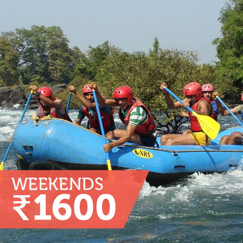 Rafting with meals (Sat/Sun)